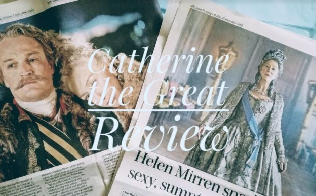 Helen Mirren in Catherine the great Press cuttings