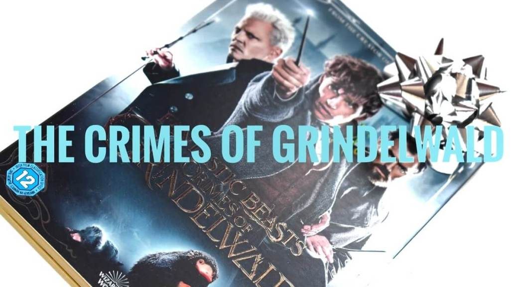 Grindelwald dvd on white table