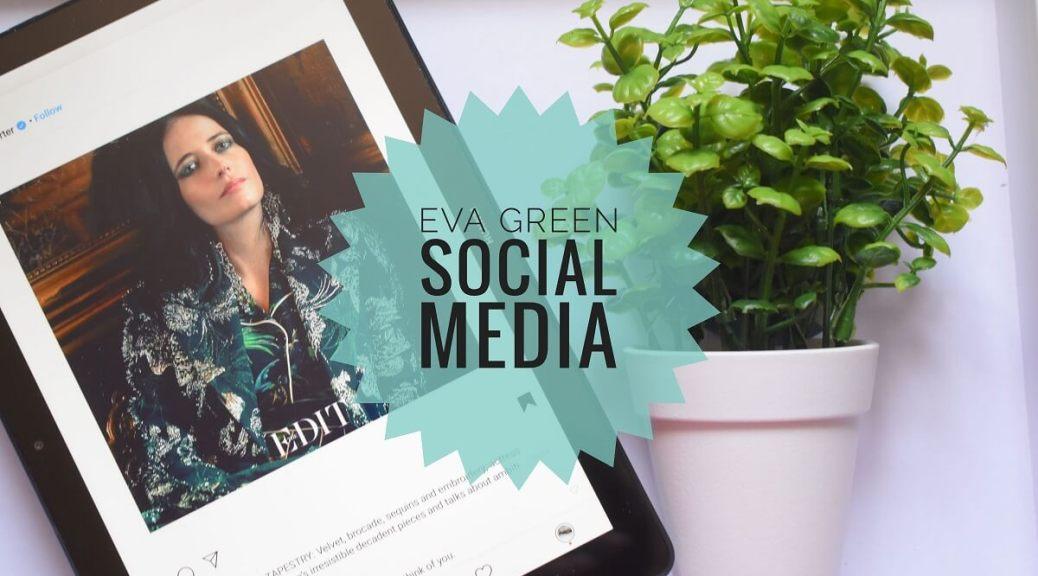 eva green shown on tablet screen