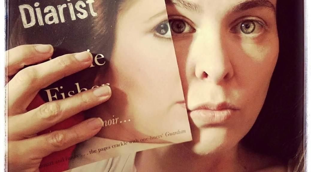 girl with princess diarist book