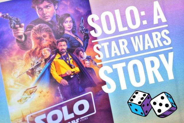 solo poster colourful backdrop