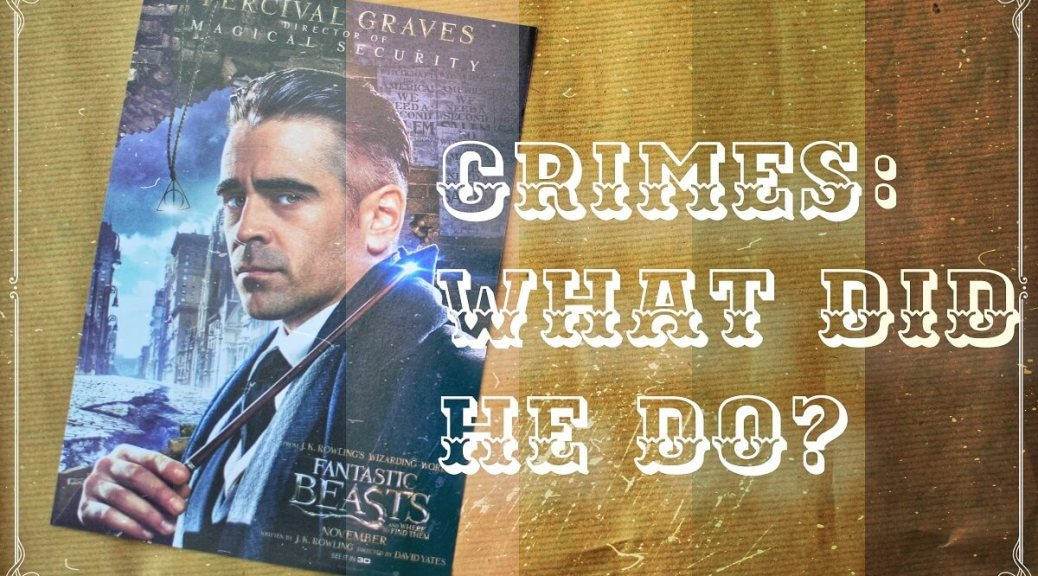 grindelwald wanted poster